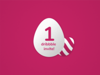 Easter Dribbble invite giveaway!