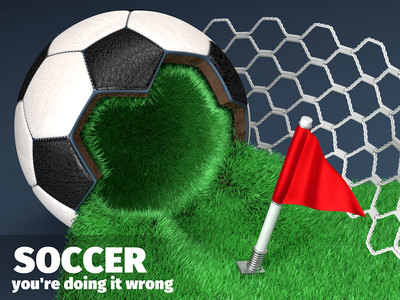 Abstract Soccer