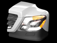 Headlight cube