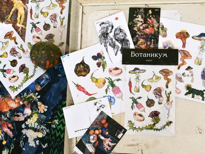 Botanicum stickers