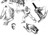 Cropped sketches 1