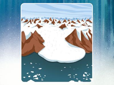Glaciers picturebook