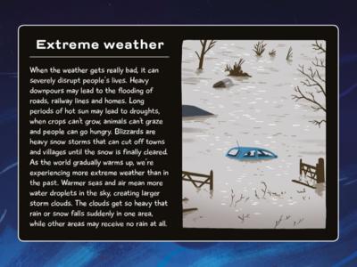 Extreme Weather picturebook