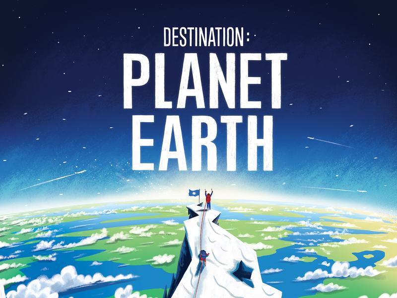 Destination: Planet Earth picturebook