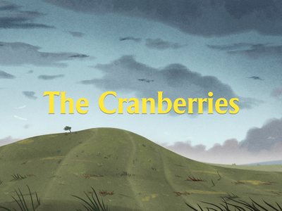 The Cranberries background art