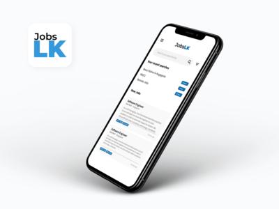 JobsLK - Job Finder Mobile App