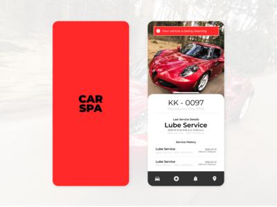 CAR SPA - Mobile Application For Car Service Center