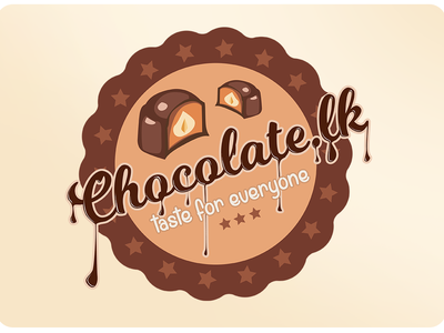 Logo Design for chocolate.lk