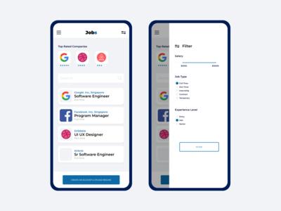 Job Finder Mobile Application