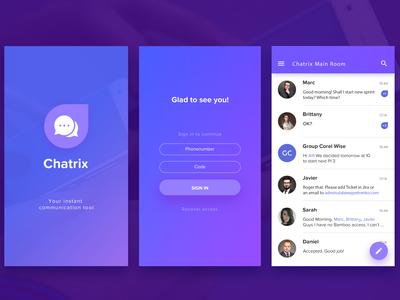Chatrix Messenger App