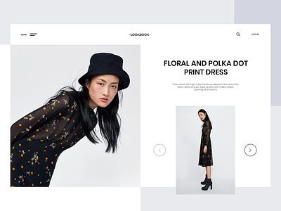 Lookbook - Fashion design ui ui  ux design lookbook