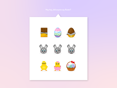 Easter Emoji pack
