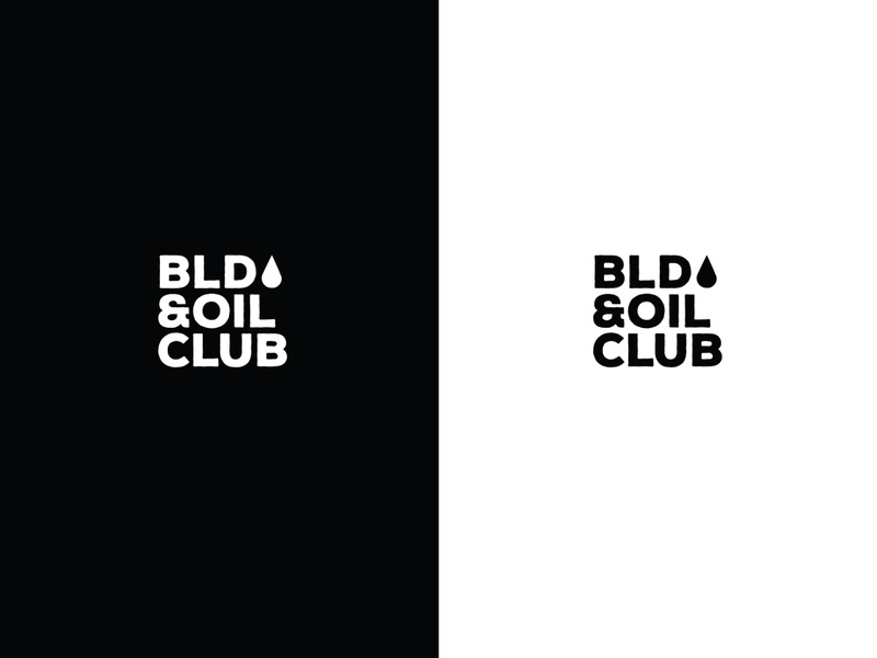 Blood & Oil Club Branding automotive clean graphic design photography bikes oil blood logo texture design typography carshow car branding