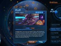 Space war full screen