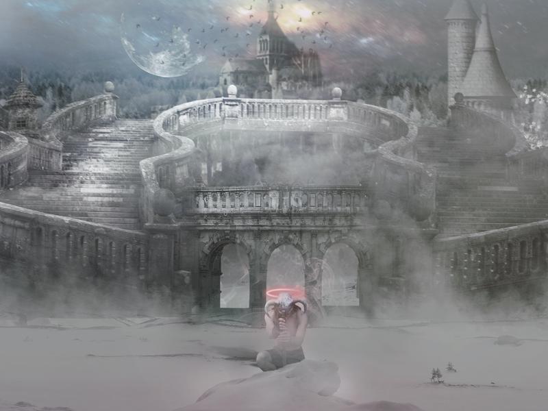 The Dead Land digital art manipulate art design manipulation illustration digital 2d