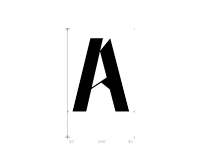 A for Alex typography typetogether typeface designer typeface design typeface type daily type challenge type art type glyphsapp font design coffee alexjohnlucas