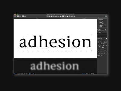 Adesion