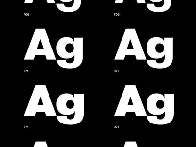 CALIPSO variable typeface animation