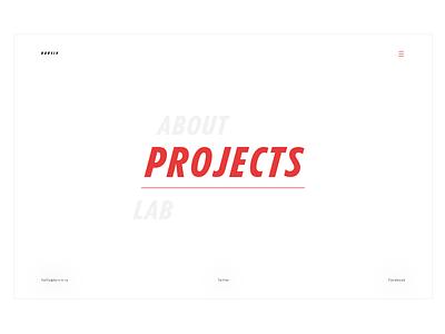 Kursiv ux ui typography interface design clean