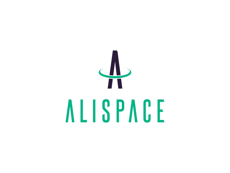 Alispace logo design halo green logotype identity drone letter a creative agency design agency design studio a logo ring space mark brand branding logo graphic design color vector design