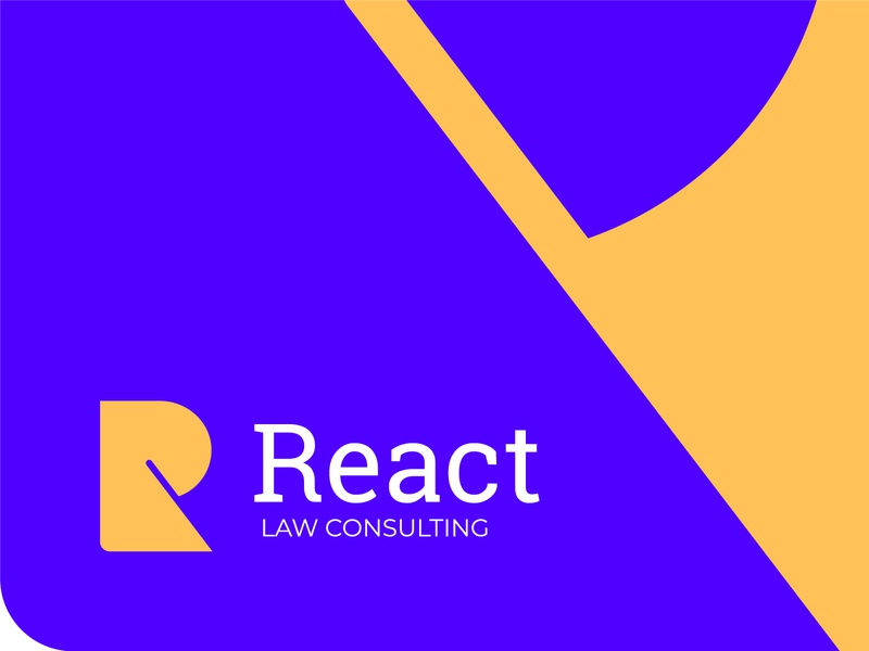 React logo design