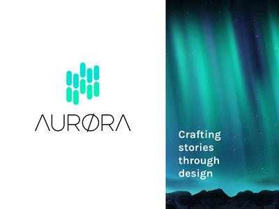AURØRA design logo