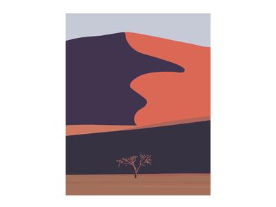 Namibia Desert | Illustration