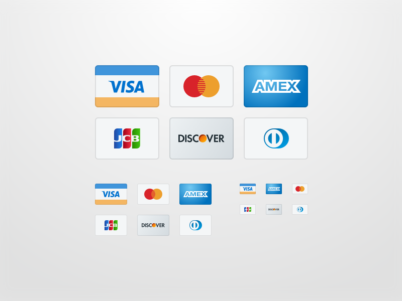 Credit Card Icons - Sketch File by Tony Gines on Dribbble