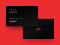 Masthead Business Cards