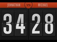 Versus Scorekeeper WIP