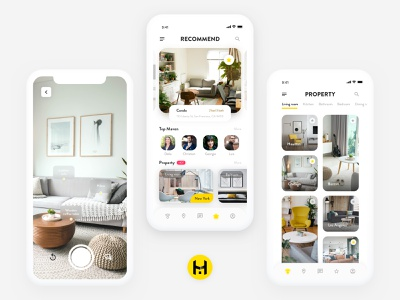 Homaven-Home Shopping Guide ui  ux phone mobile interface ux mobile ui app icon ui design ui