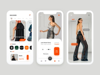 Fashion LUX app mobile ui app ux ui design ui