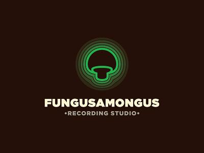 Fungusamongus logo production sounddesign amplifier music mastering mixing studio recording vibration echo mushroom