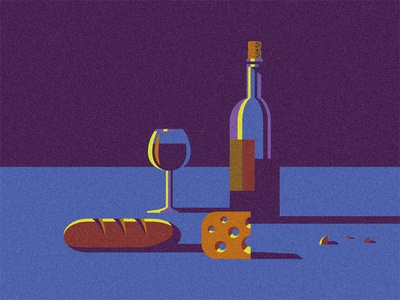 Pain, Fromage & Vin