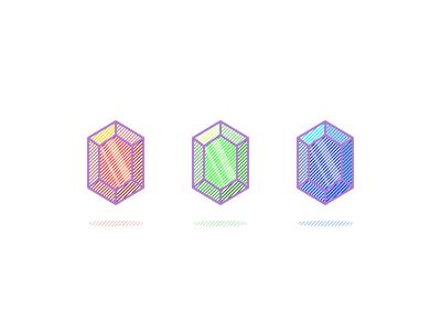 Precious Stones II montpellier illustration game bonus treasure tresor gems precious emerald saphir ruby stones
