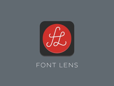 Font Lens Flat