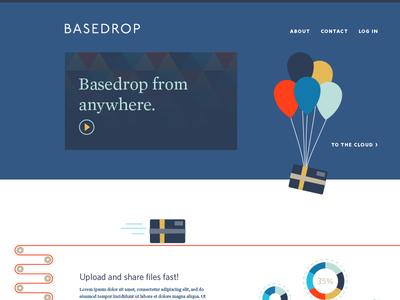 Basedrop Landing Page