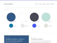 Sullivan blue story