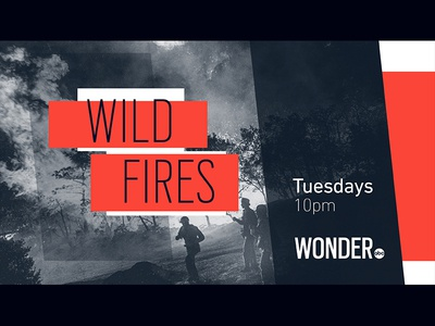 Wild Fires - ABC Wonder broadcast title abc network branding wonder package show