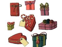 Cartoon Gift Wrap