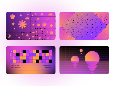 Blog post graphics 01 abstract shapes education illustration data geometric gradient