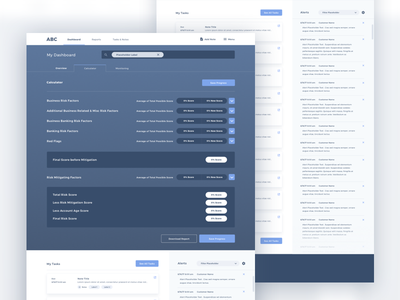 Business Calculator & Dashboard alerts tasks business tool calculator dashboard