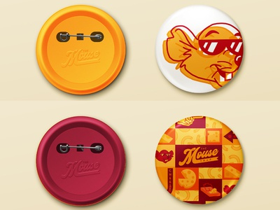 The Mouse Trap Food Truck Buttons