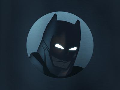 Batman  gotham superhero dc helmet head rebound playoff illustration ui dark knigth batman