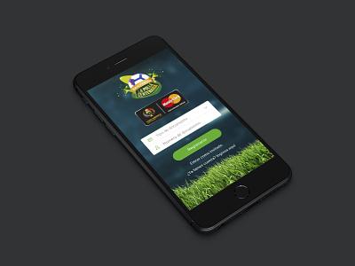 "New App ""Polla Centenaria"" copa america falabella ios colombia soccer ui ux banco falabella mastercard login app copa américa"