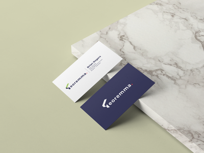 Teoremma Business Cards logo product design bogota branding colombia minimal clean design logodesign logotype branding and identity branding design brand business card design businesscard