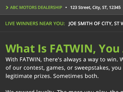 FATWIN Global Navigation Expanded