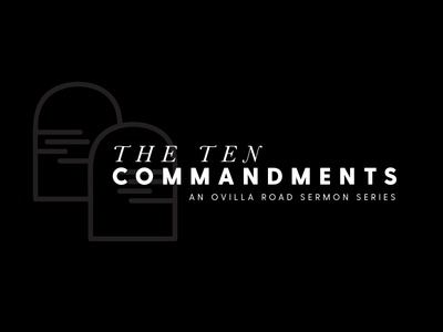 Ten Commandment Sermon Design