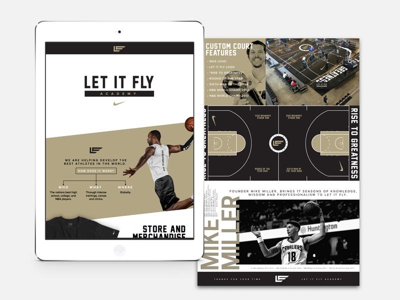 b5821d17bf70 Let It Fly X Nike Basketball By Studio Flight On Dribbble