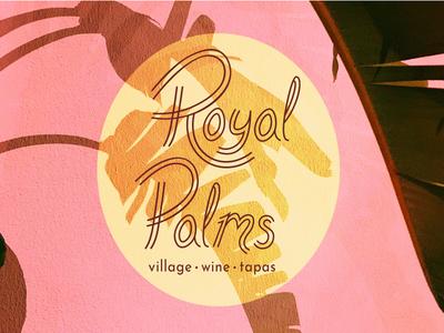 Royal Palms Logo